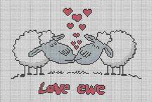 Amore e Matrimoni punto croce