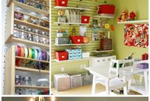 organize craft room