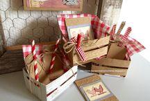 houten kratje (wood crate)