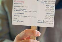 Livrets & Programmes de cérémonie laïque