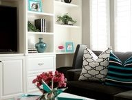 Home: Living Room / Mid-Century living room decorating ideas.  / by Lisa Sharp | Retro Housewife Goes Green