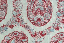 Fabrics / Types of fabrics that I would use in my design and decoration work.