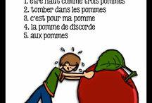 Expressions, proverbes en FR