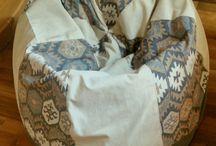 textil design / DIY - a bean bag this time