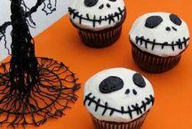 Halloween cupcajes