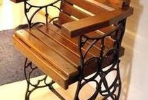 židl a lavičky