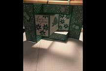 tri fold shutter card