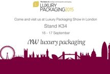 Luxury Packaging London 2015 / Luxury Packaging is the UK's only event for luxury packaging, and was hosted in a new home – London's iconic Olympia! MW Luxury Packaging was there at stand K34.
