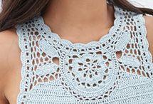Crochet VESTIR / Trajes, gorros, bufandas, prendas de vestir, calzado