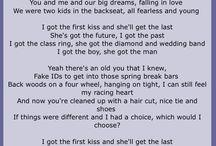 Lyrics / by Lisa Brooks