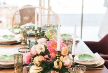 Entertaining / Let's Get Together! Ideas for decorating for get togethers and parties & Delicious food to eat.