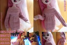 Bratzillaz crochet patterns