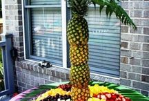 sweet fruit buffet