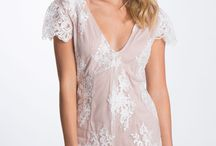 White Tainted Lace Romper / AUD $69.95
