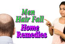 Men Hair Fall Home Remedies