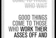 Words of Wisdom / by Ann Miller