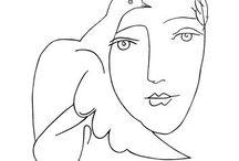 art for me / Kunstwerke die mir gefallen - die mich ansprechen -  Erinnerungen an Museumsbesuche (Picasso)