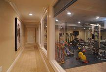 Gyms/dancing rooms
