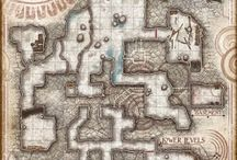 Caves / Maps of mostly natural underground places for adventuring