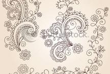 Hennas minták