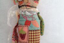 Prims/Fabric Dolls