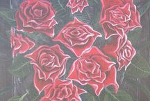 Beautiful Bouquet / Flowers, and more flowers. Artwork of **FLOWERS ONLY** please (paintings, drawings, and digital artworks) for invite send message or comment on any pin. All collaborators welcome to send out invites. Happy Pinning!!
