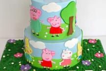 Gâteaux 3D Peppa pig