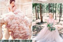 Robes de mariage roses
