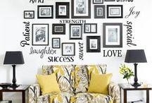 Wall Art Ideas / by Angela Schulz