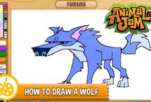 Sketch Jam! / Learn how to draw animals from Animal Jam!