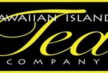 Hawaiian Islands Tea Company / We blend green, black & rooibos tea with exotic Island tastes like Passion Fruit, Mango, Hibiscus, Macadamia and Coconut. A taste of Aloha for tea lovers.