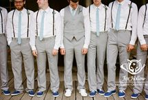Wedding Attire For Him / Share the spotlight with your guy and dress him to the nine on your wedding day.