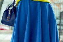 Clothing blue