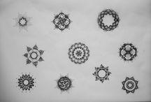 Mandala tatovering