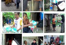 Project Hati Nurani / adalah kegiatan berbagi nasi setiap hari jumat secara gratis yang dimulai dari masak, mempacking dan membagikan langsung kepada pengemis, kaum telantar, Anak yatim, Tukang becak, tukang asongan, tukang grobak, janda tua, gelandangan dan kaum dhuafa