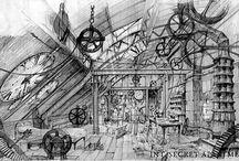 set design sketch