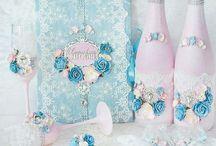 Свадьба розово-голубая