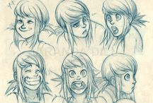 character's expressions