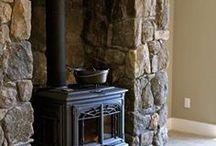 fireplace decor stove