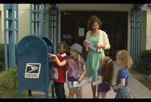 Kids learn about the US Post Office! / Kids take a field trip to the post office.