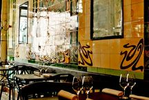 Art Nouveau in Bars, Restaurants and Cafe's