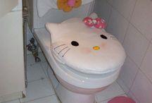 Juego de baño de kity