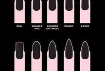 nails,nail shapes