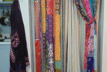 cortinas de retazos