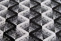 Patchwork - black and white