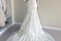 Csipke esküvői ruhák