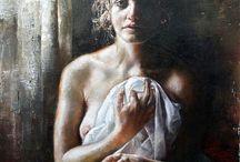 La femme, la beauté, l'art !
