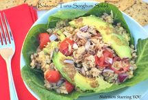 Summer-Lunch and Dinner / Seasonal Recipes--healthy, protein-packed, high fiber, complex carbs / by Carly Bossert