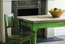 rénover meuble, table