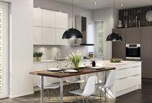 Kitchen // keittio / Inspiroivia keittioita